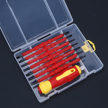 8pcs set Precision Screwdriver Set 8 IN 1 Mini Screwdrivers Kit Bag 8 Insert Bits 1pcs