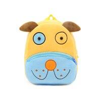 Cute Zoo Plush School Bag For Girls And Boys Cartoon Kindergarten Backpack Kids Animal Stuffed Toy