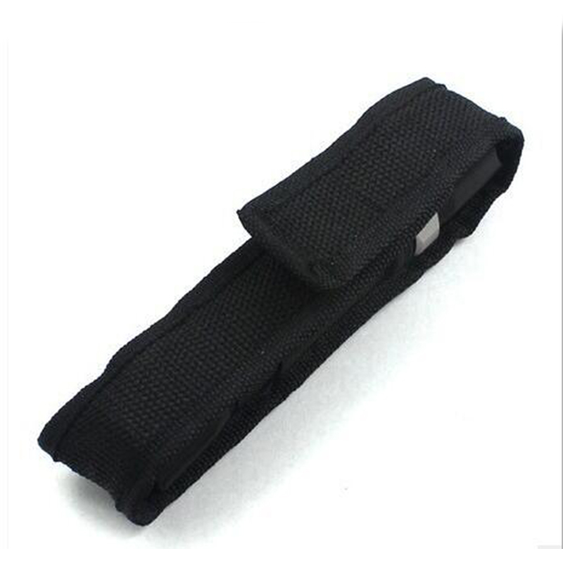 Portable LED Flashlight  Cover Universal Flashlight Holster Cloth Cover Pouch For Torch Flashlight