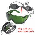 OPT/e-света/IPL/Фотон Инструмент Красоты черная кукла безопасности защитные очки красный лазерный очки 340-1250nm широкий поглощения
