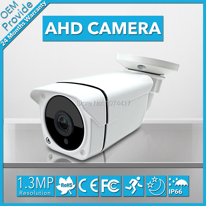 AHD6130LQ-EA AHD CAMERA CCTV Security HD 960P 1.3MP AHD Camera IR Night Vision Bullet Outdoor For AHD DVR With Bracket cctv camera housing aluminum alloy for bullet box camera with bracket for extreme cold or warm outdoor built in heater and fan