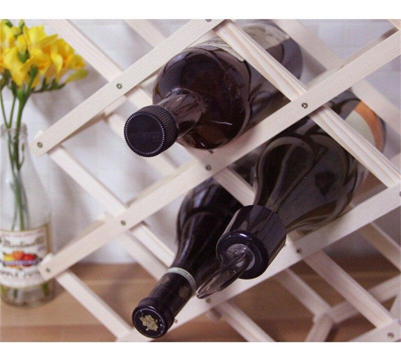 Us 178 Folding Holz Weinregal Alkohol Neer Gesundheitsdrink Flaschenhalter Spezielle Neue Schrank Europäischen Kreative Geschenk Serie In Eiskübel