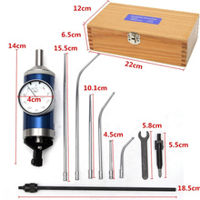 0-3mm Coaxial Centering Dial Test Indicator Mayitr Center Finder Milling Tool 0.01mm Accuracy with Wooden Box