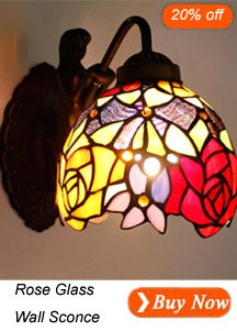 Rose Flower Sconces
