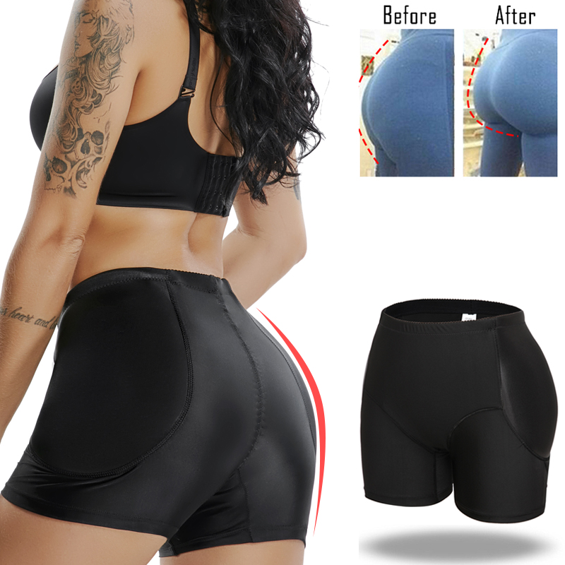 Miss Moly Padded Control Panties Invisible Butt Lifter Booty Enhancer Body Shaper Padding Panty Push Up Shapewear Hip Modeling