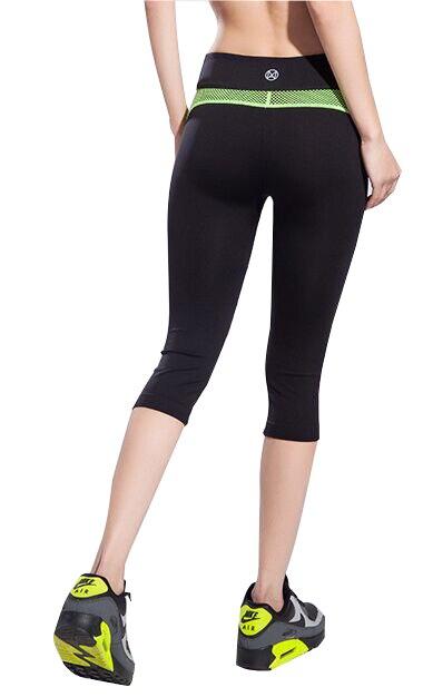 b7a1682a16d16 Mujeres Yoga capris fitness Leggings Yoga deportiva Medias leggins deportes  compresión legging gym Workout Pantalones cortos