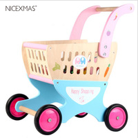 1pc Shopping Cart Supermarket Simulation Role Play Toy Pretend Play Kitchen Toys Gift For Toddler Infant Baby