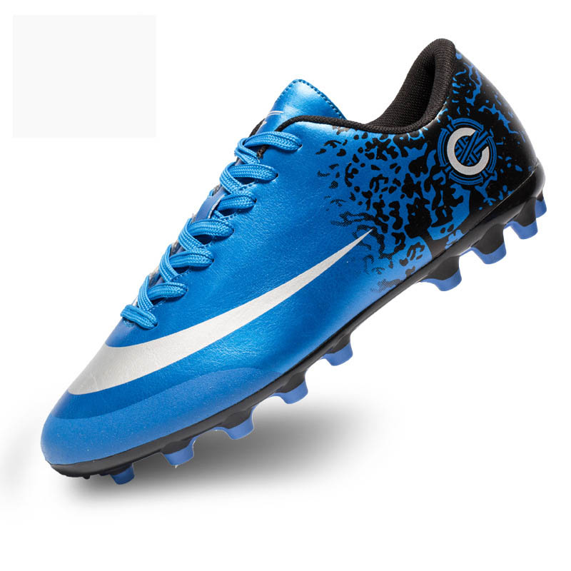 4cd060801 Soccer Shoes Blue AG Spike Sneakers Football Boots Superfly Adult Football  Shoe Unisex Soccer Cleats Sport Shoes Men Boy Sports on Aliexpress.com |  Alibaba ...