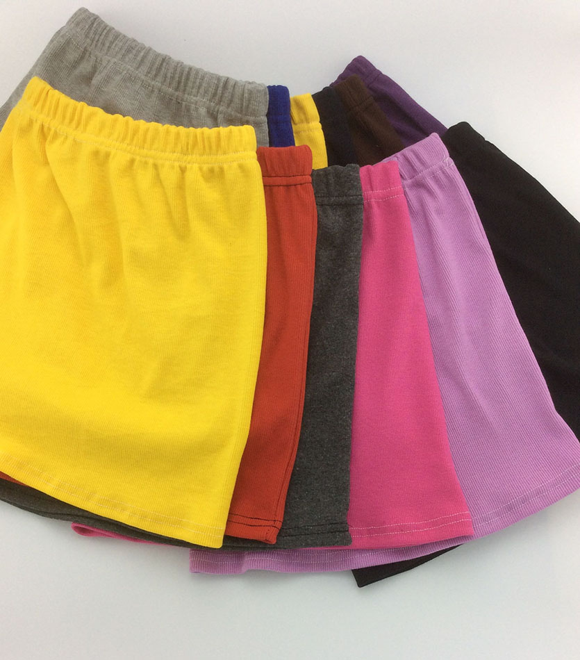Spring and Summer Candy Colors Casual Mini Girls Skirts little girl package hip skirt Kids skirts for girls