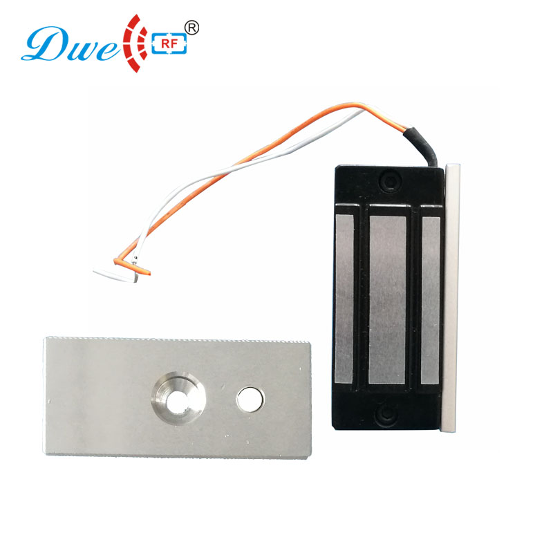 DWE CC RF door locks rf mini safe 12v electric EM maglock cabinet magnetic lock 60kg 100pounds