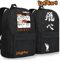Anime Volley ball Haikyu teenager Glow In Dark Kujo Jotaro Shoulder School Bag Backpack 29X45X13CM