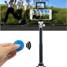 Bluetooth Selfie Stick Monopod Cell Phone Camera Remote Shutter For iOS Android