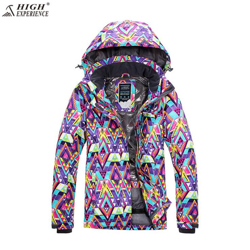 Sport Coat Brand Ski Suit  Women Winter Ski Jacket High Experience Waterproof Snowboard Jacket  Outdoor Mountain Skiing Suit