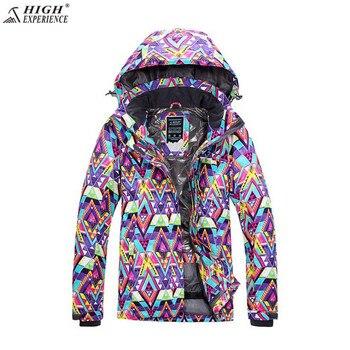 Sport Coat Brand Ski Suit  Women Winter Ski Jacket High Experience Waterproof Snowboard Jacket  Outdoor Mountain Skiing Suit