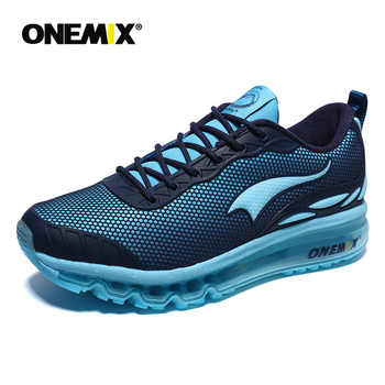 Onemix Man Running Shoes For Men Run Athletic Trail Trainers Black Zapatillas Sports Cushion Outdoor Walking Sneakers Green Shoe