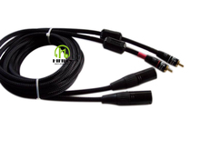 Dual RCA to Dual XLR 3pin Male Audio Cable For Microphone Amplifier Mixer Mixing Consoles 2RCA TO 2XLR free shpping