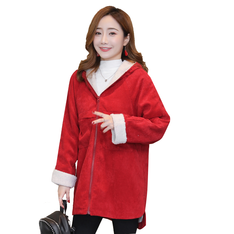 Velvet Maternity Winter Coat Loose Hooded Fashion Thicken Down Clothes for Pregnant Women Pregnancy Coats Outerwear Jackets C722 maternity outerwear jackets with hat fur collar long loose hooded fashion thicken down coat for pregnant women pregnancy coats
