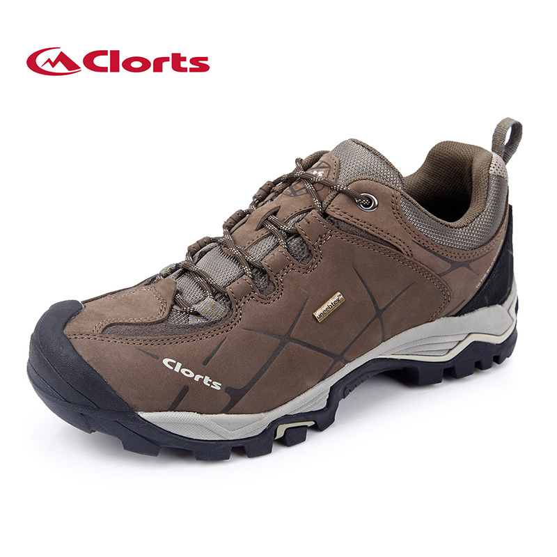 2018 New men's Hiking Shoes outdoor Real Leather anti-skid wear-resistant Breathable Waterproof Tactics boots camping Sneakers kelme 2016 new children sport running shoes football boots synthetic leather broken nail kids skid wearable shoes breathable 49