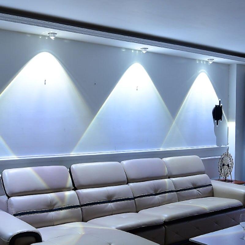 background led ceiling rgb crystal lights wall lighting 6w 10w 3w balcony entrance remote living sofa tv hall