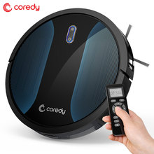 Coredy Robot Vacuum Cleaner Home Automatic Dust Cleaning Floor Carpet Quiet Smart Sensor Protection Auto Charge Sweeper R500+