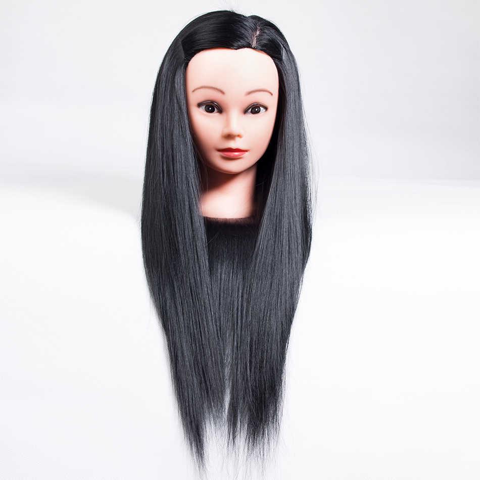 Qp hiar Trắng Vàng Thật 100% các Động Vật Tự Nhiên Tóc Đào Tạo Mannequin Head Cho Kiểu Tóc Thực Hành Chuyên Nghiệp Tóc Giả Phụ Nữ Đứng Đầu