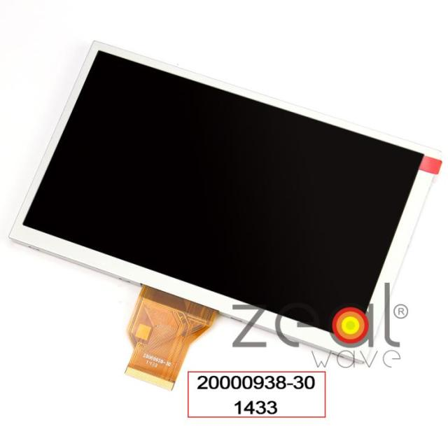 "New Original  8"" inch 800*480 16:9 TFT LCD Display Screen INNOLUX AT080TN64 For Tablet PC CAR GPS"