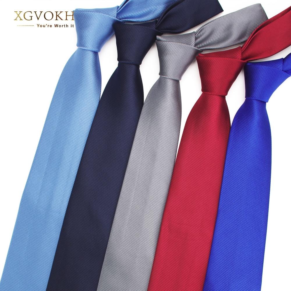 Men necktie solid Formal tie business wedding Classic Men's ties 8cm corbatas dress Fashion shirt Accessories