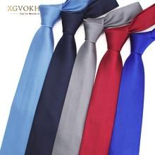 лучшая цена Men necktie solid Formal tie business wedding Classic Men's ties 8cm corbatas dress Fashion shirt Accessories