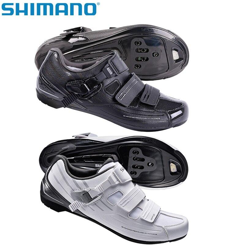 Genuine SHIMANO SH RP3 SPD SL Road Bike Shoes Riding Equipment Bicycle Cycling Locking Shoes запчасть shimano проставки под шипы spd sh51 sh56