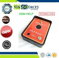 GSM audio Intercom box with two alarm input for GSM Taxi service call point emergency help point
