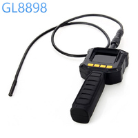 GL8898 8mm Endoscope Tube Inspection Camera W LCD Screen Near Far Focus Switch Industrial Endoscope Pipeline