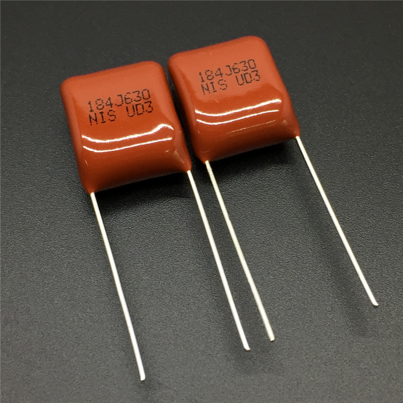 10Pcs/100Pcs Japan NISSEI CBB Capacitor MMX 630V 184 J 5% 0.18uF 180nF Pitch=10mm Metallized Polyester Film Capacitor