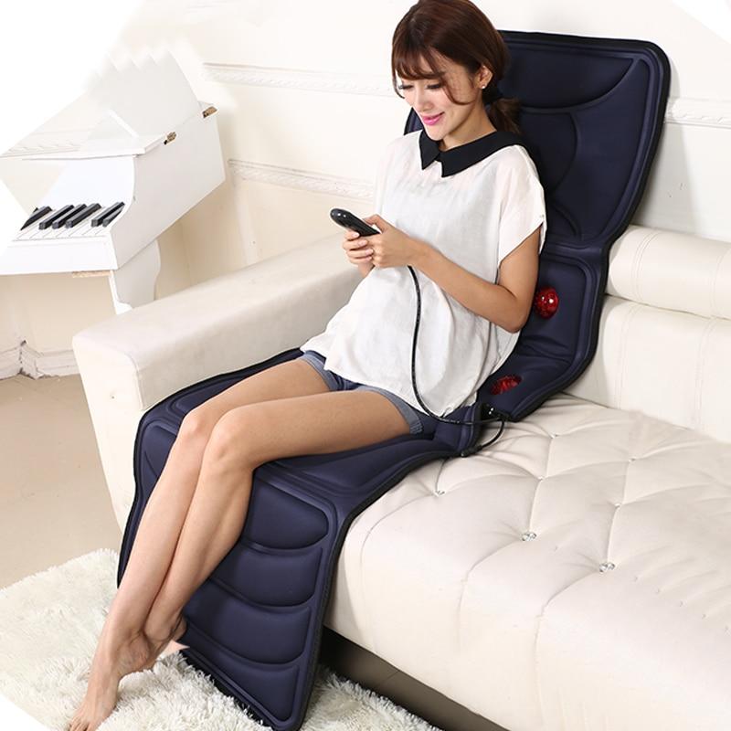 Cervical Massager Multifunction Body Neck Waist Shoulder Back Electric Massage Mat Household Mattress Backrest