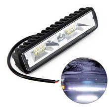 2PC 36W 12V 16LED Car Trucker Work Light Bar Spot Beam Driving Fog Lamp Bulbs(China)