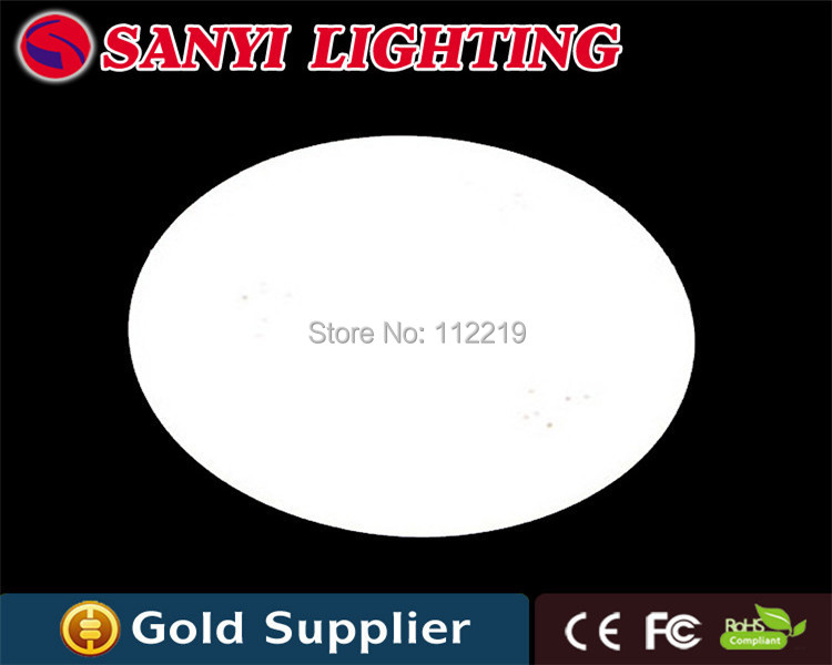 Modern ceiling light fixture 30w for living room, white led ceiling lights fixture for livingroom kitchen