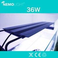 36 Вт Nemolight интеллектуальная программа управления Светодиодный свет Выдвижной кронштейн аквариумные коралловые Nemo свет 60 90 см аквариум