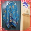 Free Shipping Autumn Winter Thick Warm Wild Long Bohemia Scarf Shawl Fashion Nepal Ethnic Split  Women Blanket Scarf