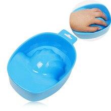 1pc 15cm Nail Art Hand Wash Remover Soak Bowl DIY Salon Nail Spa