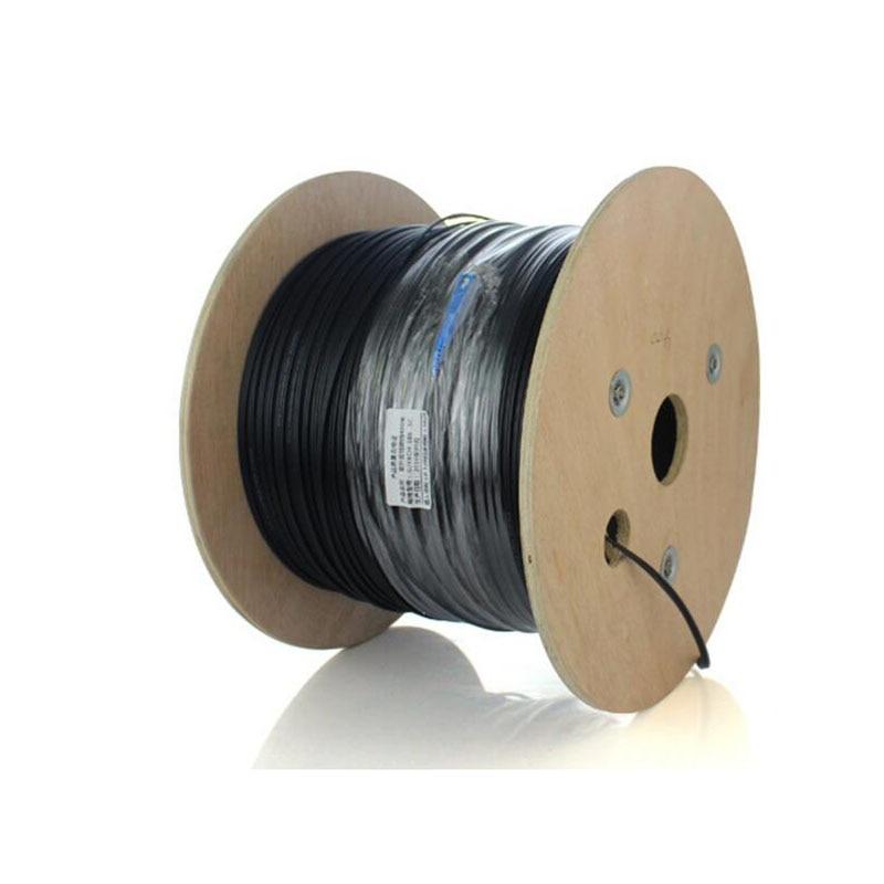 500M Outdoor SC UPC Duplex FTTH Drop Patch Cable SC Singlemode Duplex G657A Fiber Optic Patch Cord FTTH Fiber Optic Jumper Cable
