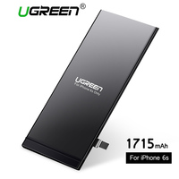 Ugreen Mobile Phone Battery for iPhone 6 6s Replacement Batteries Internal Battery for Phone Original Baterry for iPhone