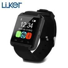 Bluetooth Smart Watch U8 U Smart Watch For IPhone 4/5S/6 Samsung S4/Note 3 HTC Android Phone Smart Phones Wearable Devices