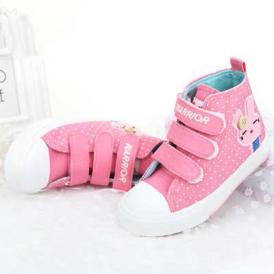 Dziewczyny buty kostki wysokie trampki Cute Bunny dzieci
