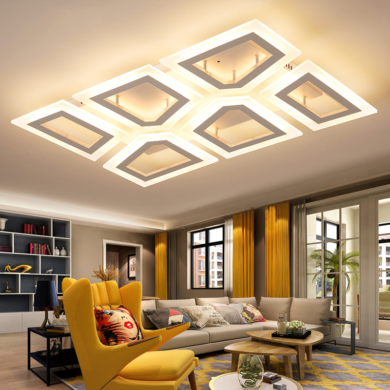 Remote led ceiling lights for living room bedroom decor dimming ceiling lamps AC85~265V surface mounted home lighting fixtures creative star moon lampshade ceiling light 85 265v 24w led child baby room ceiling lamps foyer bedroom decoration lights