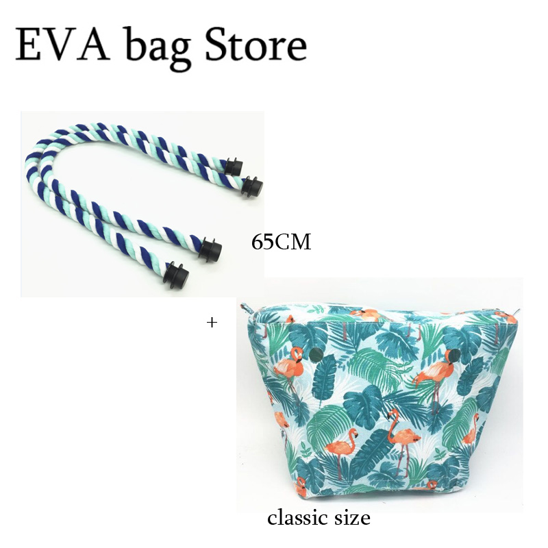New Classic Size Bag And 65 Cm Rope Handles For Obag Classic
