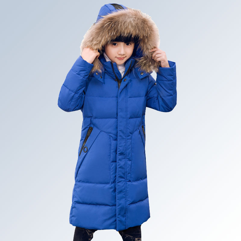 9d7b54871d43 30 Degree Thick Warm Down Jackets Winter Boys Duck Down Coats ...