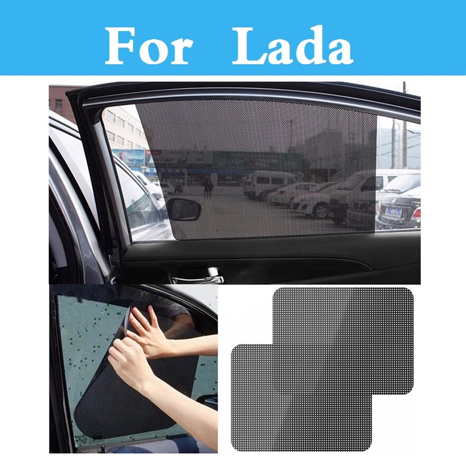Car Sunscreen Curtain Window Auto Side Window Car Sun Shade For Lada 1111 Oka 2105 2106 2107 2109 2110 2112 <font><b>2113</b></font> 2114 2115 image