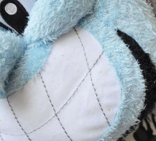 Nova Aladdin Genie 36*20 centímetros de Brinquedo de Pelúcia Bonito Travesseiro de Pelúcia Macia Crianças Brinquedos Bonecas para As Crianças Presentes