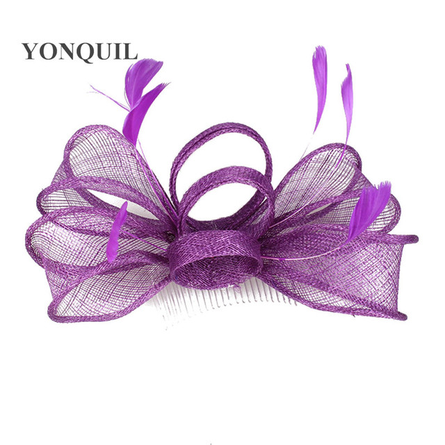 31a994b0 sinamay fascinator hats good bridal wedding hats cocktail hats occasion  headwear millinery hairstyles hat Free shipping