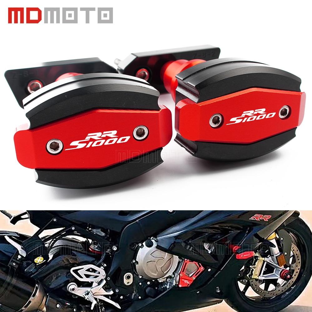 Motocykl padací chránič pro BMW S1000 RR S1000RR 2010-2017 CNC levý a pravý motorový rámový posuvník Anti Crash chrániče chráničů