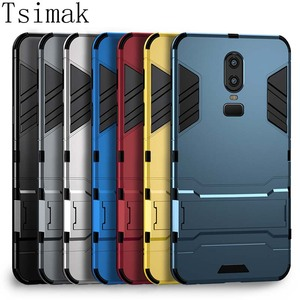 Case For Oneplus 3 3T 5 5T 6 6T 7 7T 8 Pro one plus 6 T 7 8 Cover Silicone Shockproof Protection PC+TPU Armor Back Phone Coque(China)
